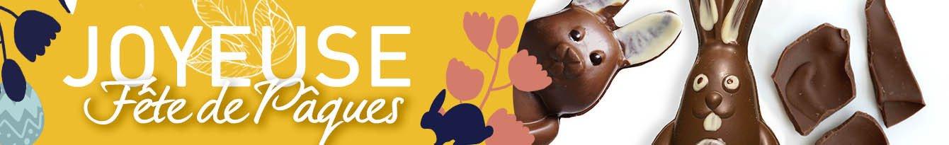 Paques chocolat et plaisir