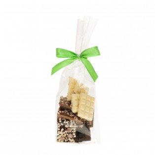 Mendiants chocolats assortis myrtilles-noisettes