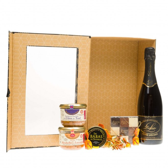 Coffret gourmand tradition de Noël