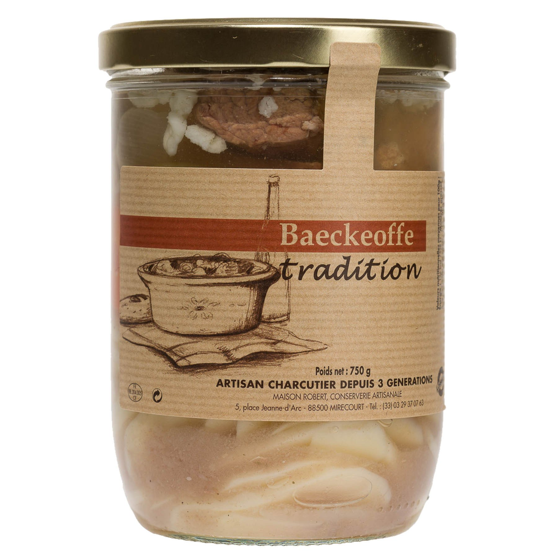 Baeckeoffe tradition, 750 g