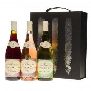 """Coffret  cadeau découverte du Vignoble """"Côtes de Toul"""""""
