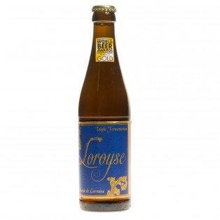 Bière Loroyse triple 33cl 8°