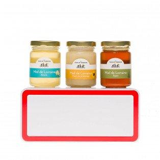 Coffret dégustation miels de Lorraine