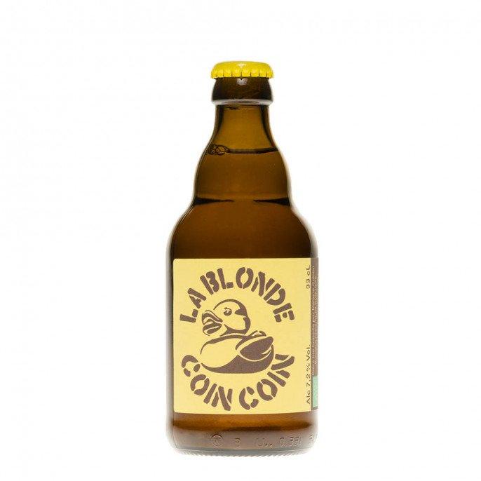 Bière Blonde Coincoin, 33cl  7,2°