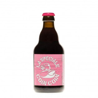 Bière Brune La spéciale Coincoin, 33cl 5,5°