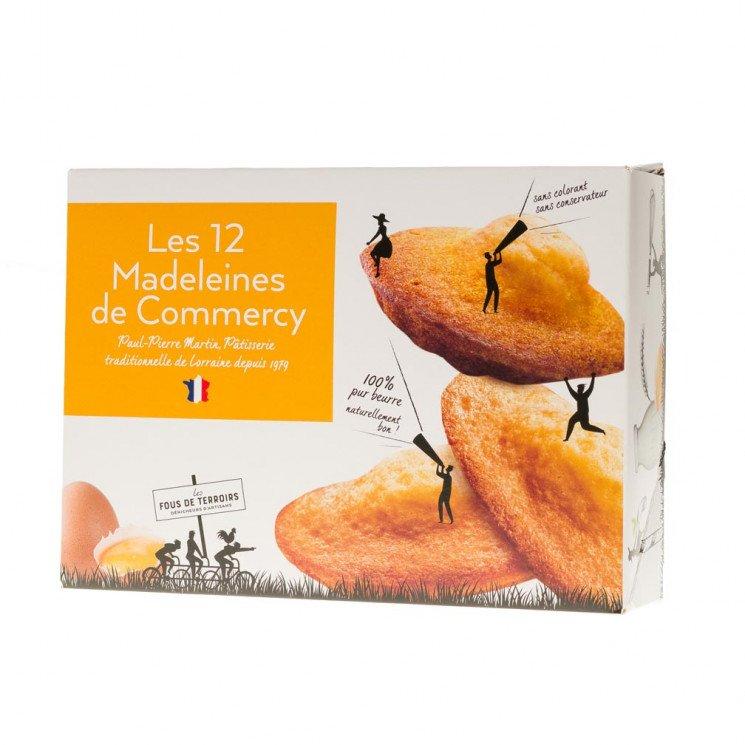 12 madeleines de Commercy au citron confit, 250g