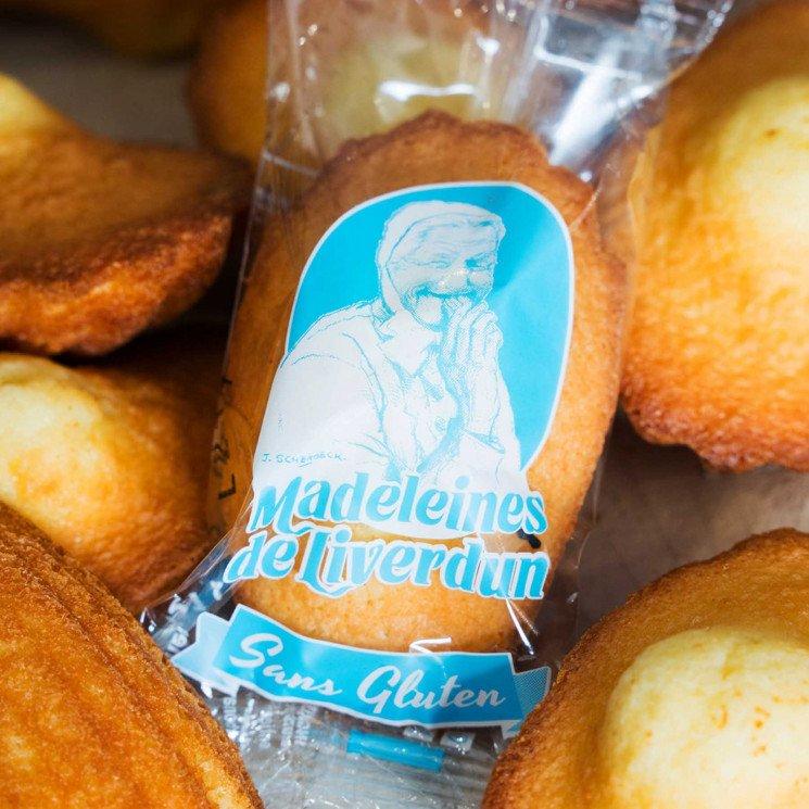 12 madeleines sans gluten de Liverdun