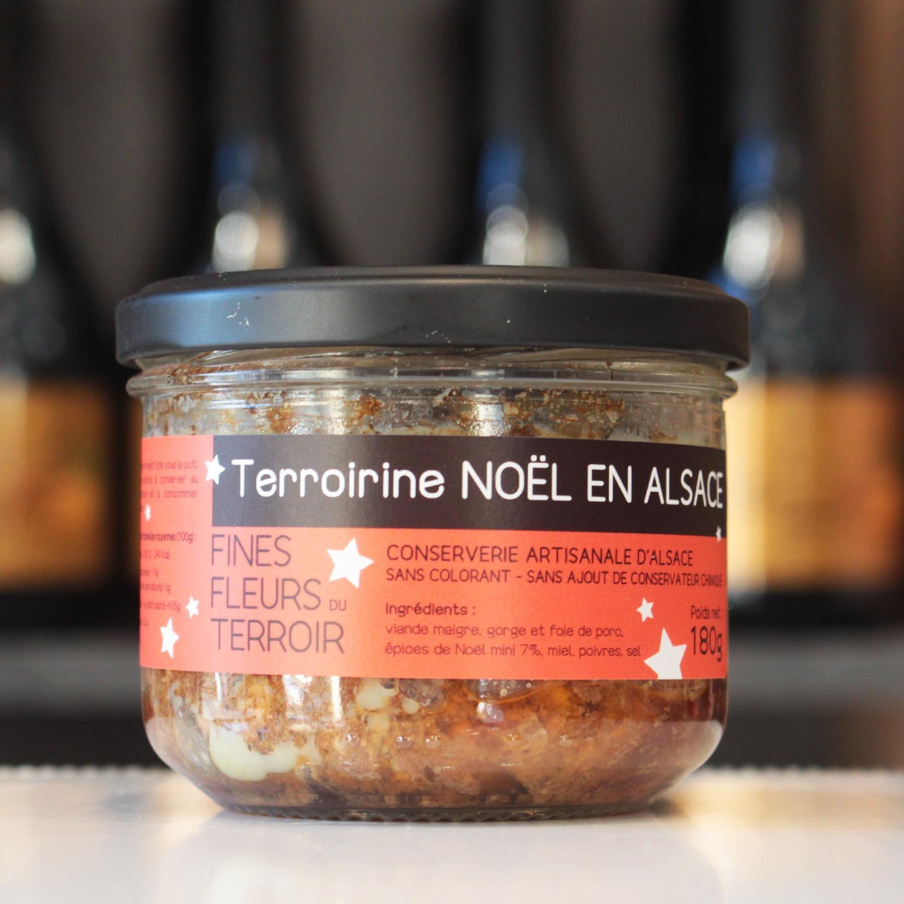 Terroirine Noël en Alsace, 180g