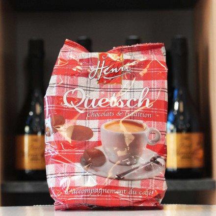 Chocolats cœur croustillant Quetsch, 100g