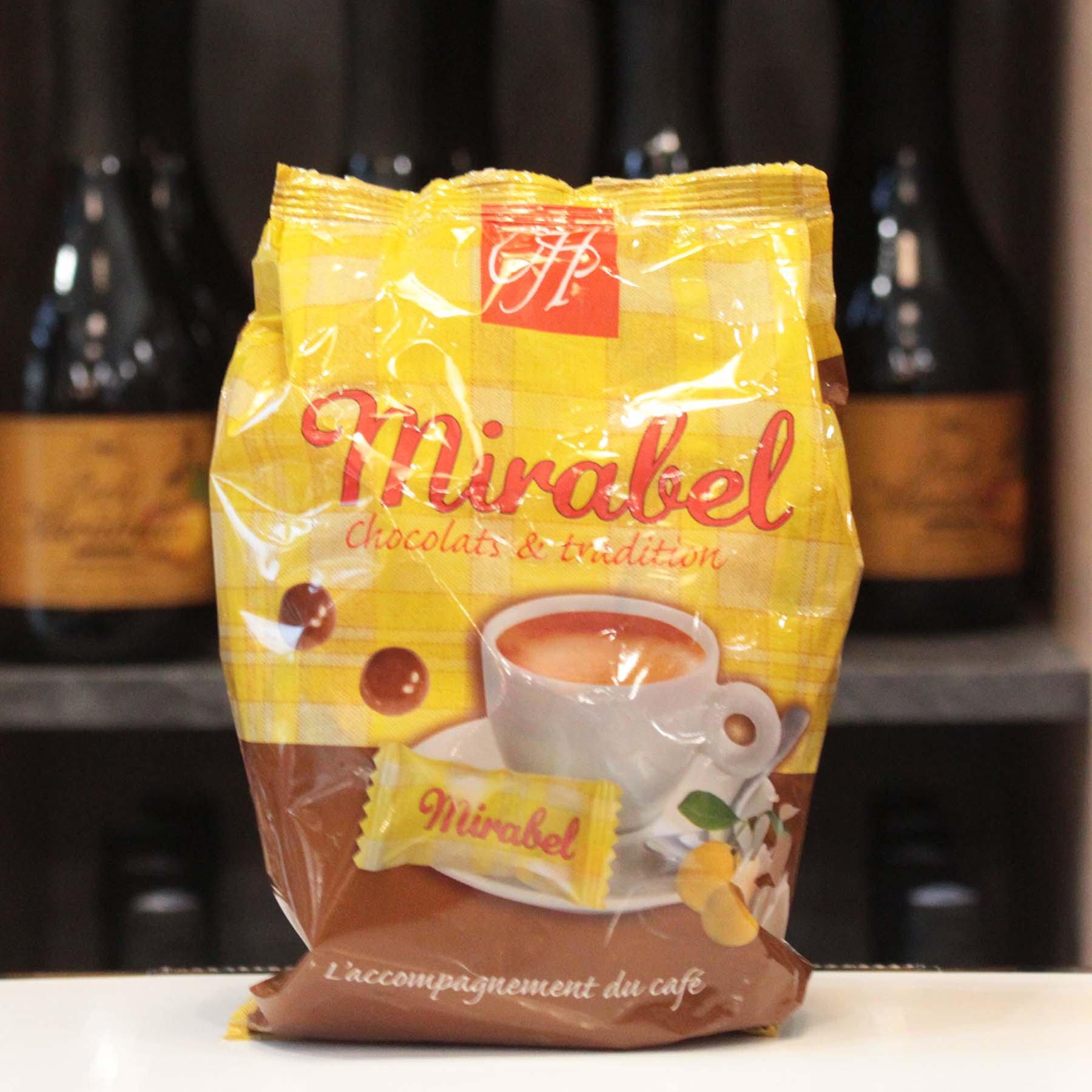 Chocolats cœur croustillant Mirabel,100g
