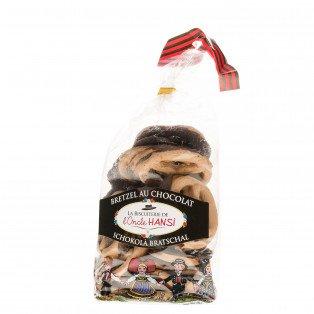 Bretzels au chocolat Oncle Hansi, 200g