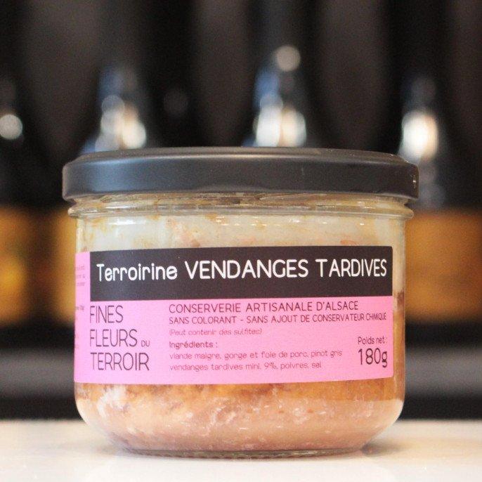 Terroirine Vendanges tardives, 180g