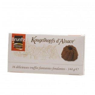 Ballotin Truffes noires Kougelhopfs d'Alsace, 144g