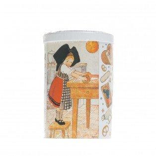 Boite à thé Hansi avec assortiment de petits gâteaux, 150g