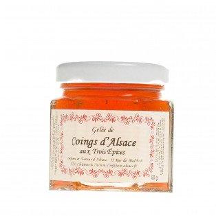 Gelée de Coings d'Alsace aux trois épices