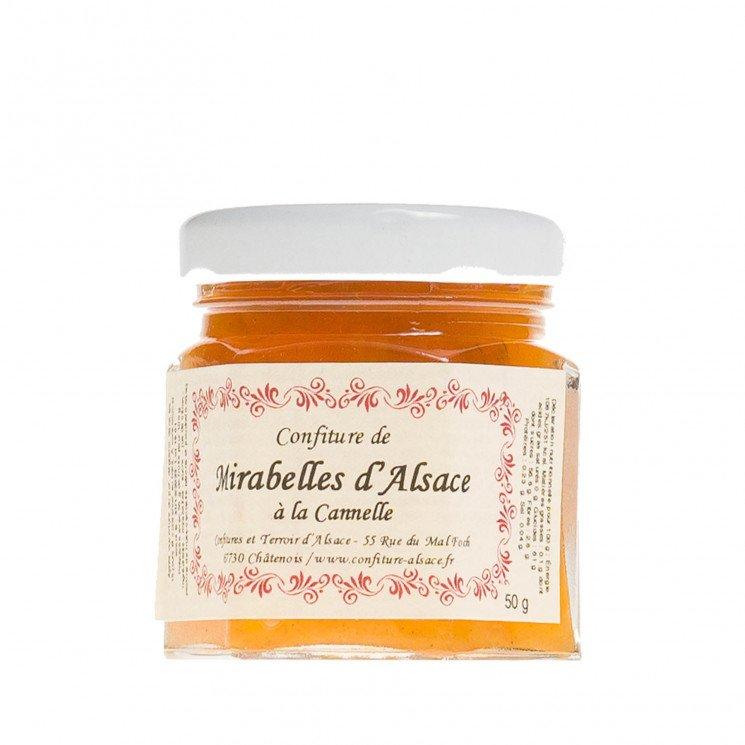 Confiture de Mirabelle d'Alsace à la Cannelle