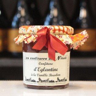 Confiture d'Églantine à la vanille bourbon, 250g