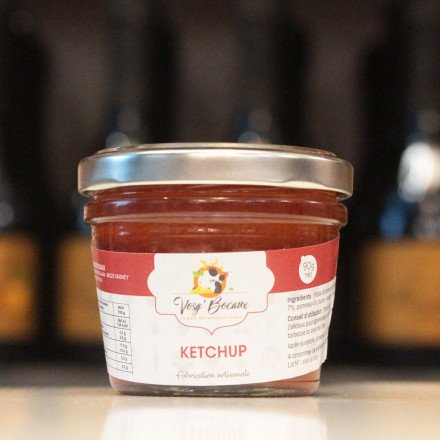 Ketchup fabrication artisanale, 90g