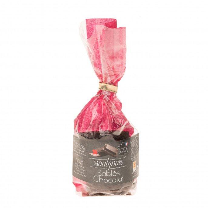 Sablés chocolat, 100g