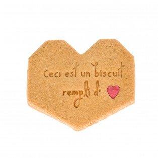 Biscuit Bavard Cœur