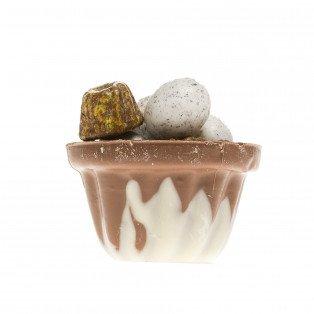 Kougelhopf en chocolat garni