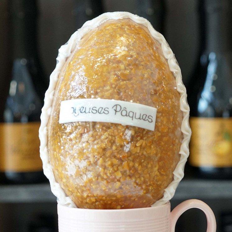 Oeuf de Pâques en nougatine, 240g