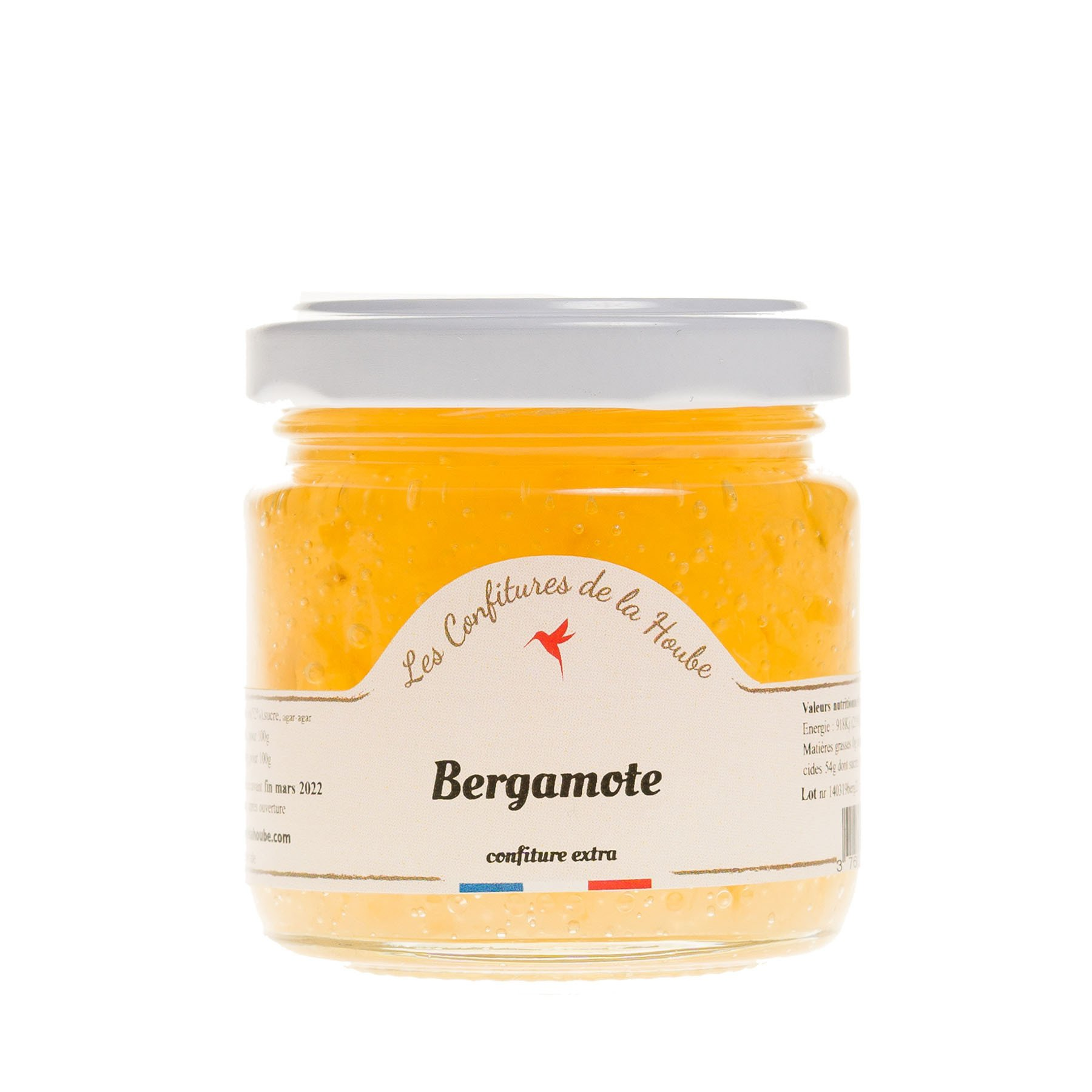 Confiture artisanale Bergamote