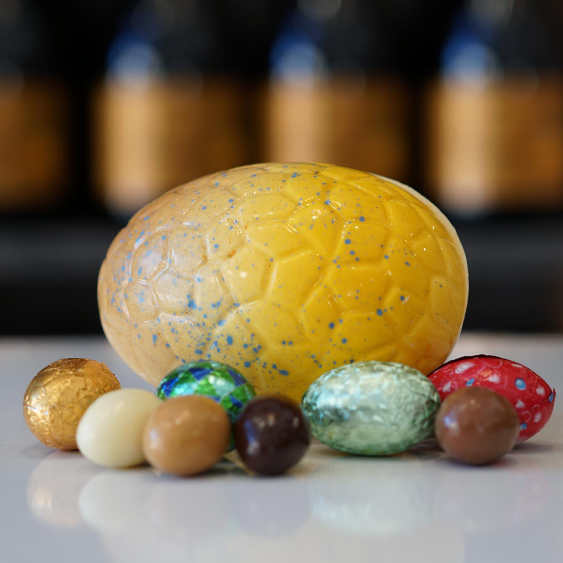 Oeuf de Pâques en chocolat