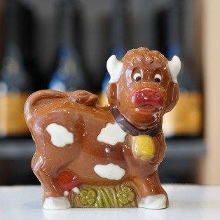 Vache en chocolat lait