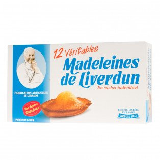 Boîte des Véritables Madeleines de Liverdun