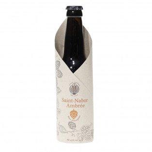 Bière Saint Nabor Ambrée, 33cl 4.5°