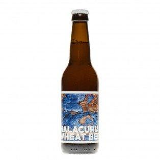 Bière blanche Malacuria BIO, 33cl 4.7°
