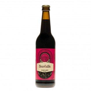 Bière Black Lager Barésille, 50cl 5.5°