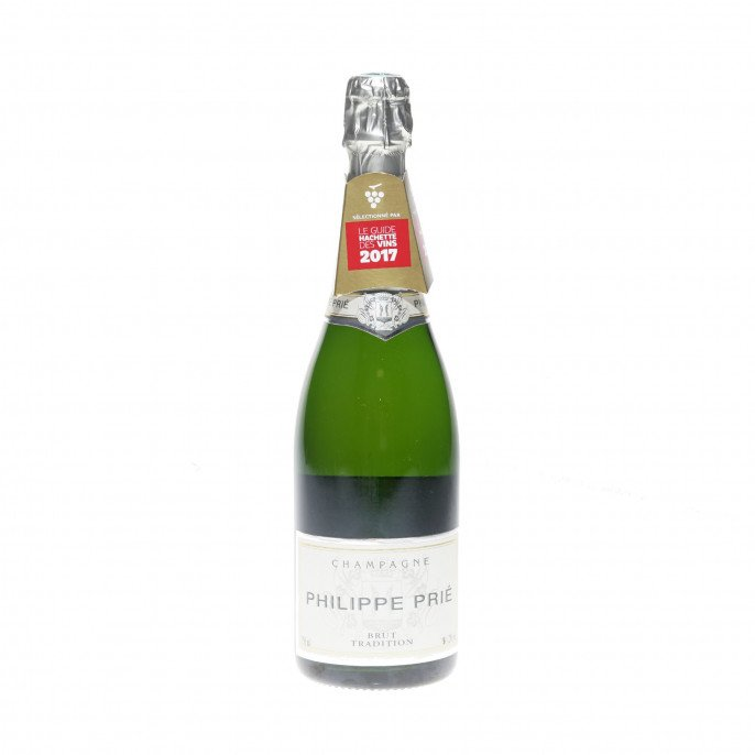 Champagne Brut Tradition Philippe Prié 12°