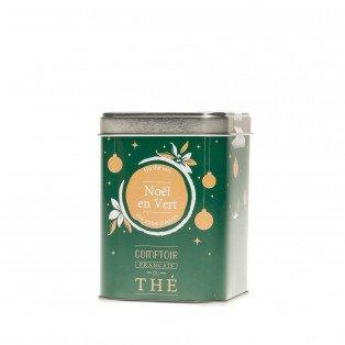 Thé vert Noël aux notes d'épices