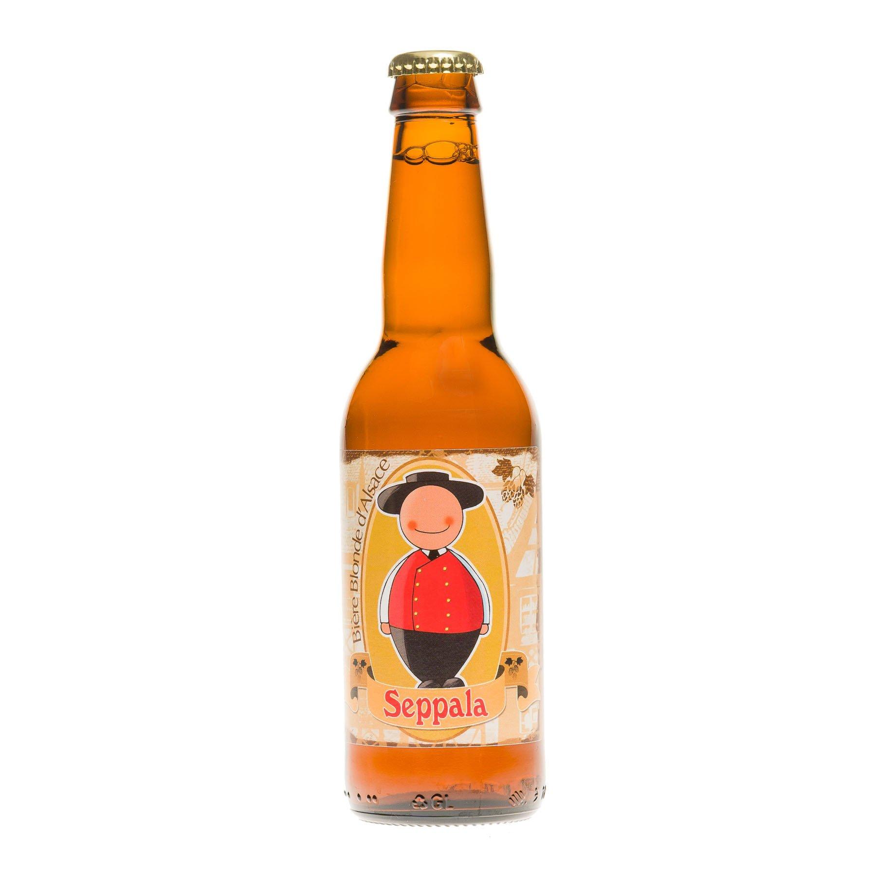 Bière Blonde Seppala, 6.8° 33cl