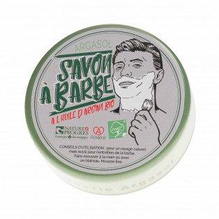 Savon à barbe à l'huile d'argan Bio