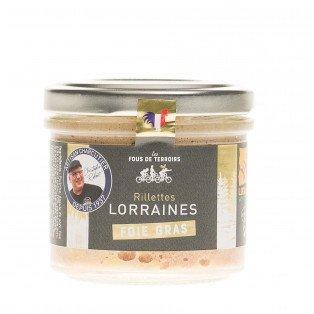 Rillettes au foie gras, 100g
