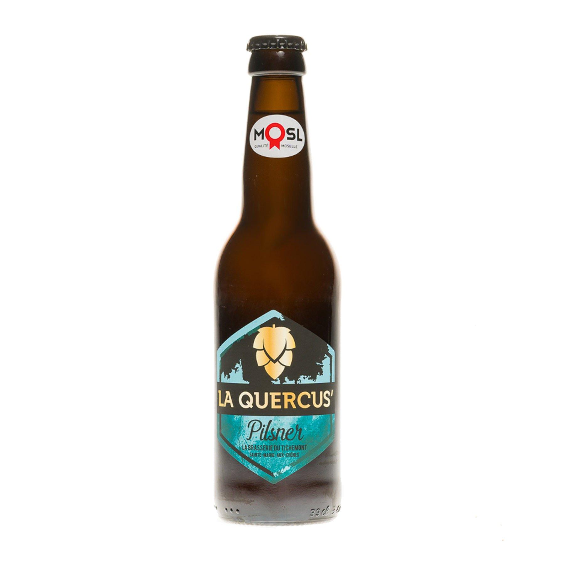 Bière la Quercus' Pilsner, 33cl 4,9°