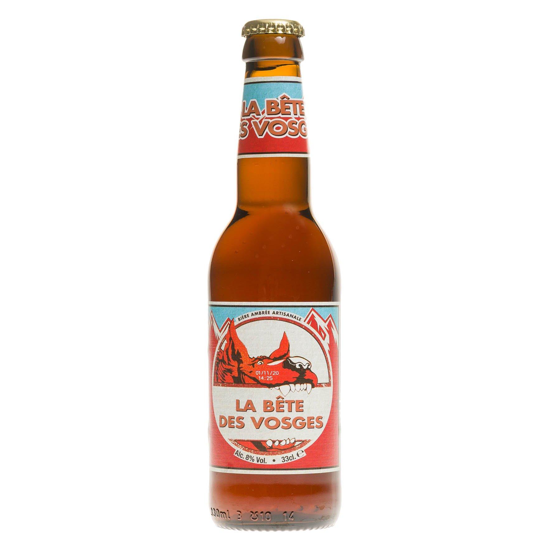 Bière Bête des Vosges, 8°