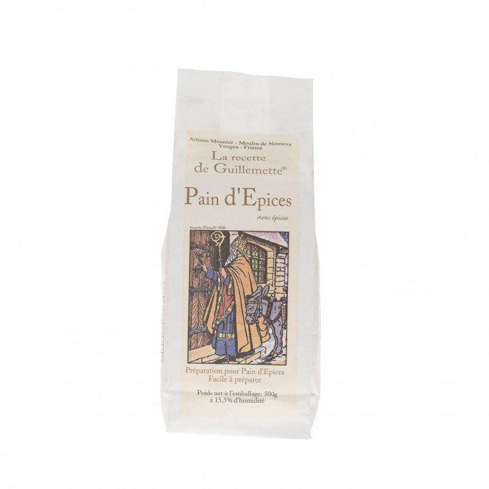 Farine pain d'épices (préparation), 500 gr