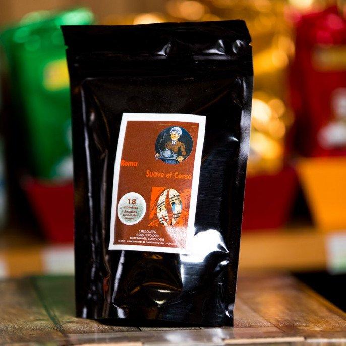 Dosettes de Café Roma Nature, 125 gr