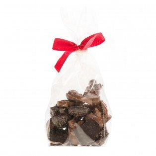Friture Noël mini sujets chocolat noir et lait  100 gr