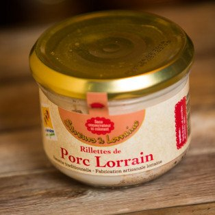 Rillettes de Porc Lorrain, 200gr