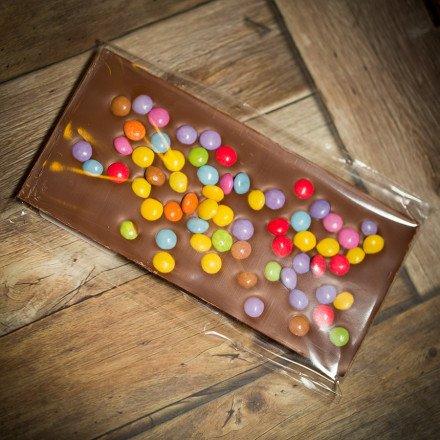 Tablette de chocolat au lait 100 gr
