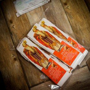 Lot de 4 Saint Nicolas en pain d'épices, 4*34 gr