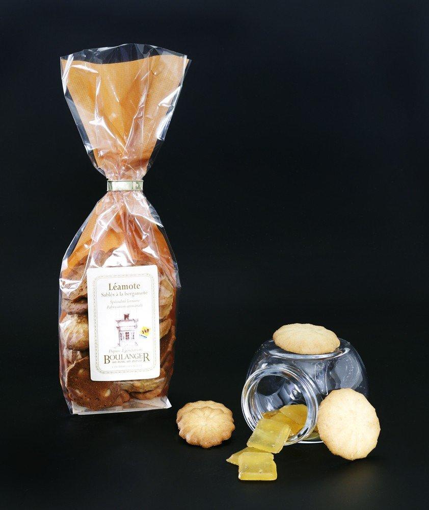 Sablés à la Bergamote, 150 gr