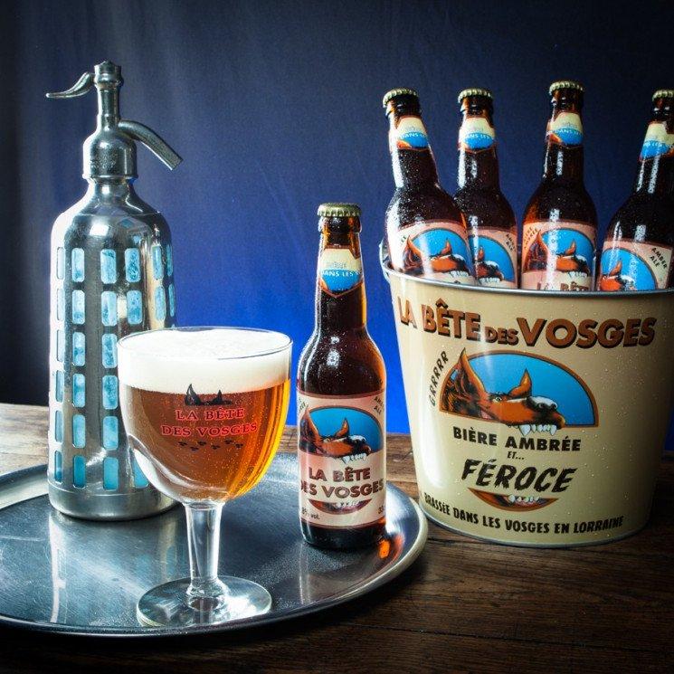 Verre à Bière Bête des Vosges, 25cl