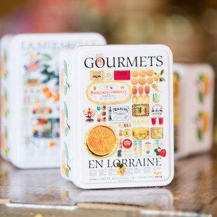 Demi-Boîte de 15 Sucettes Cœur Décor Gourmets en Lorraine