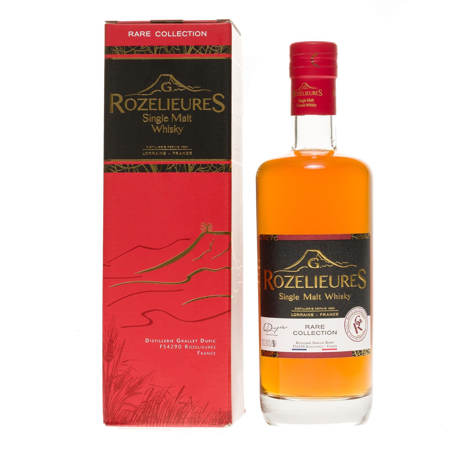 Whisky single malt G.Rozelieures